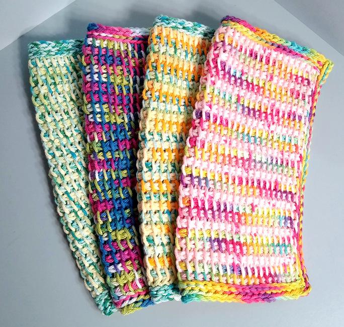 Woven & Smocked Washcloths
