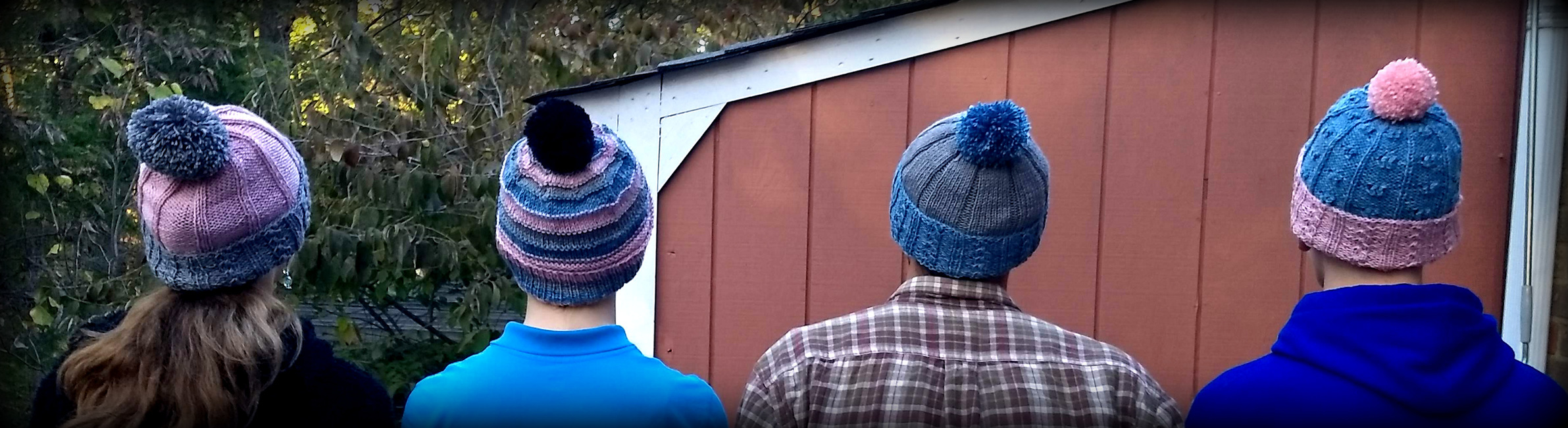 Sibling Rivalry Hats (4 Patterns)