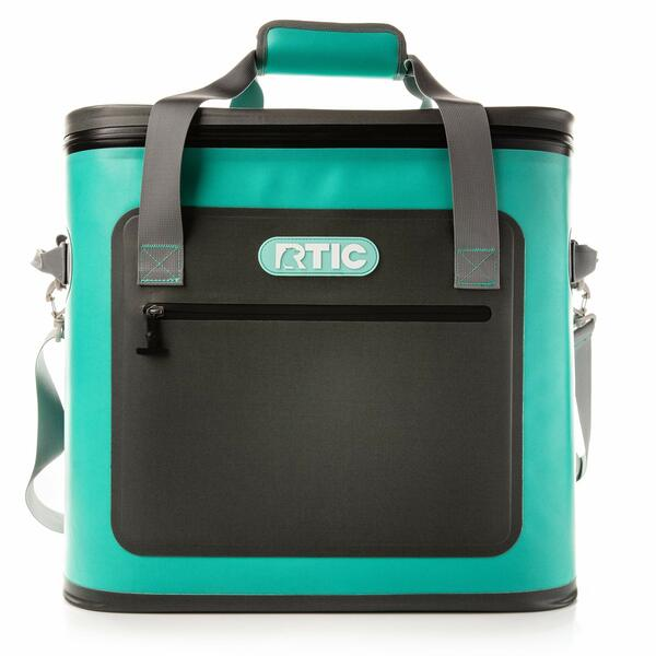 RTIC Insulated Soft Cooler Bag, Leak Proof Zipper, Keeps Ice Cold for Days, 40