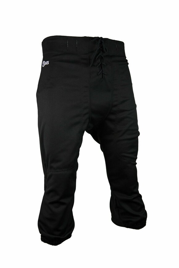 tag Youth Slotted Football Pant Medium (Black) Waist (26 in)