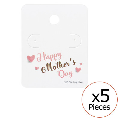 Happy Mother's Day Ear Studs Cards