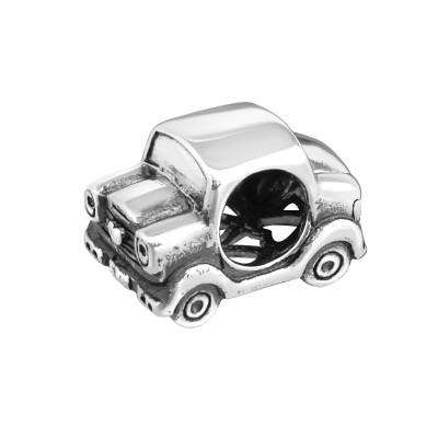 Silver Car Bead