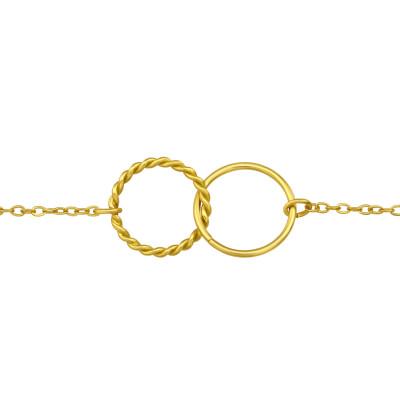 Silver Circle Bracelet