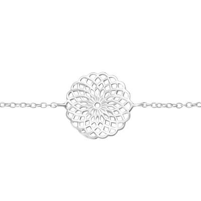 Silver Mosaic Bracelet