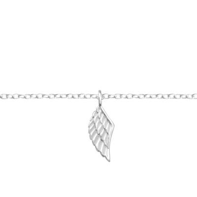 Silver Wing Bracelet