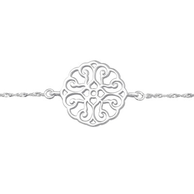 Silver Antique Bracelet