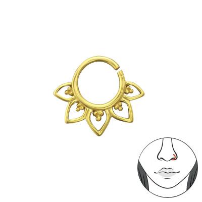 Silver Bali Nose Ring