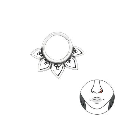 Silver Bali Nose Clip