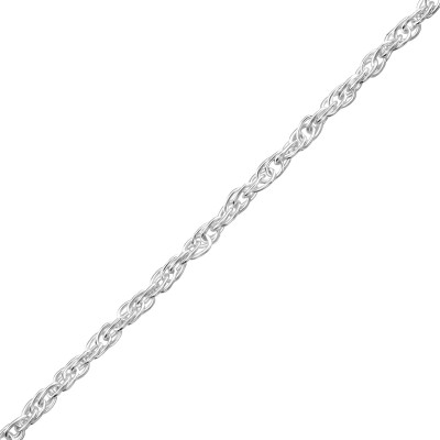 Silver Choker 38cm Prince of Wales Chain with 8cm Extension Included