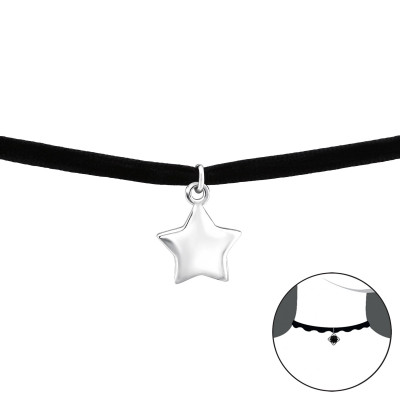 Silver Star Choker
