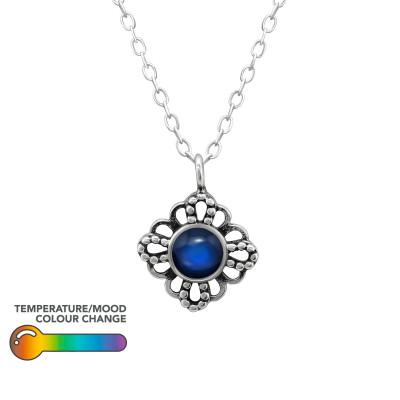 Silver Antique Mood Necklace