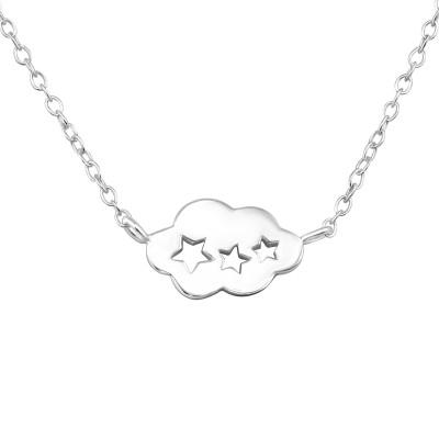 Silver Cloud Necklace