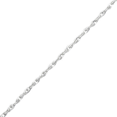 45cm Silver Singapore Chain with 3cm Extension Included