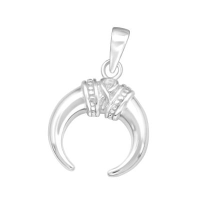 Silver Ivory Pendant