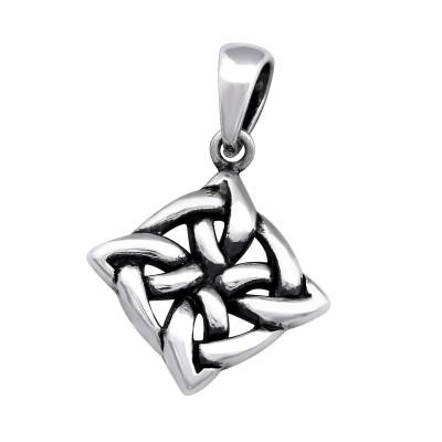 Silver Celtic Pendant