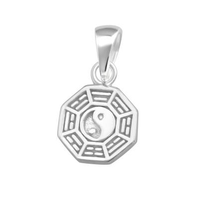 Silver Yin-Yang Pendant