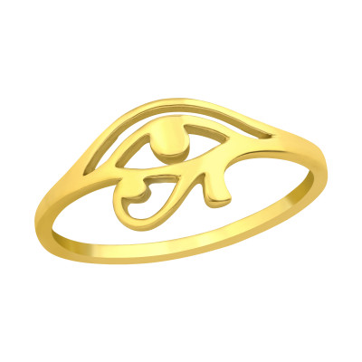 Silver Eye Of Horus Ring