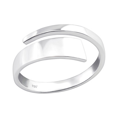 Silver Open Ring