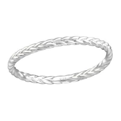 Silver Braid Ring