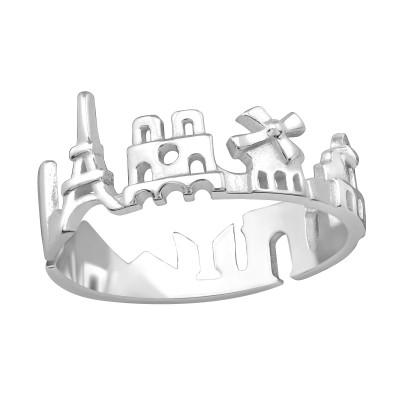 Silver Paris Ring