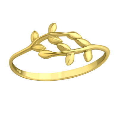 Silver Branches Ring