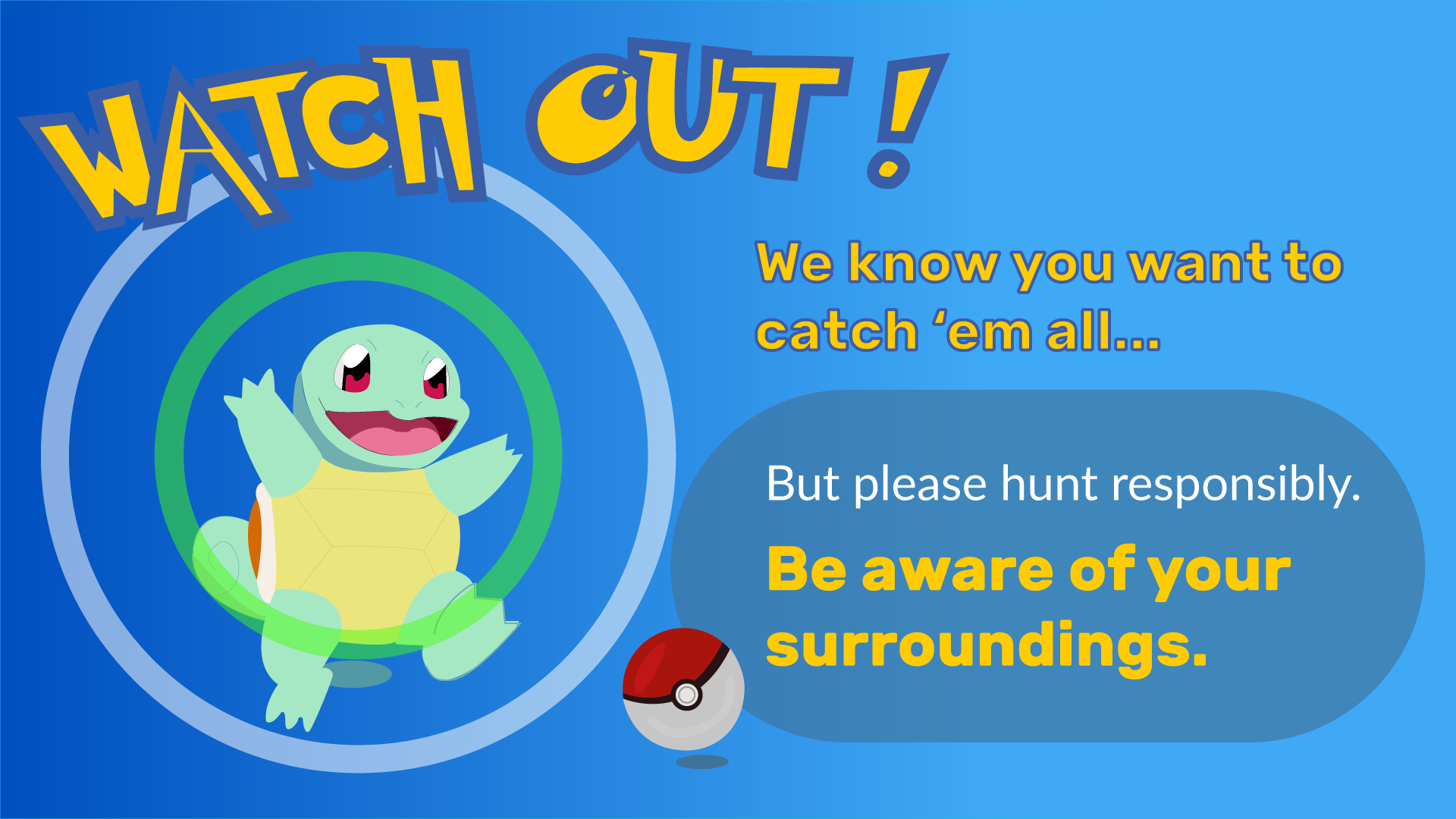 Watch Out! Pokemon Go