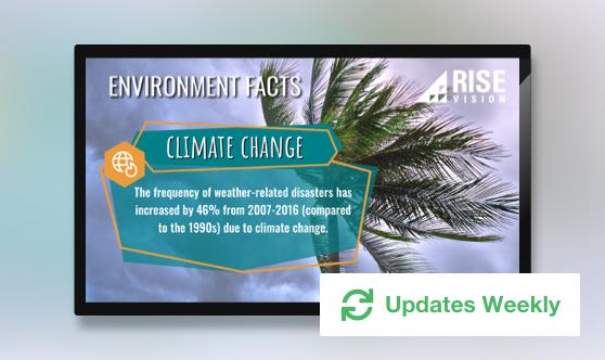 Environmental Issue Facts