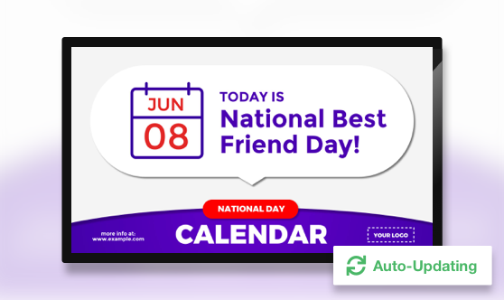Auto Updating National Day