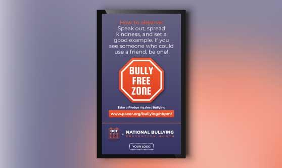 Bullying Prevention Month Portrait