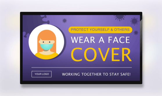 Campaign Wear A Face Cover