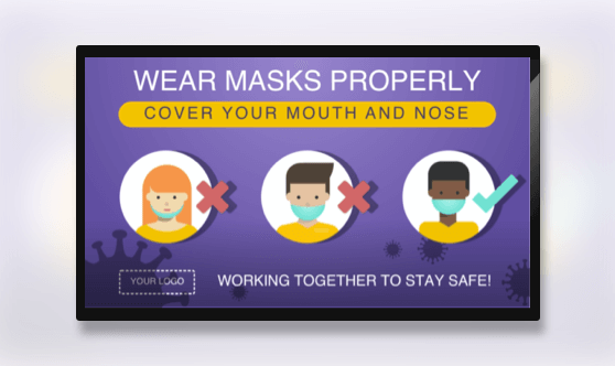 Campaign How To Wear Masks Properly