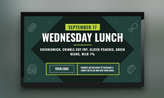 Daily Lunch Menu