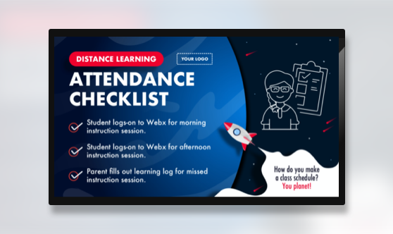 Attendance Distance Learning