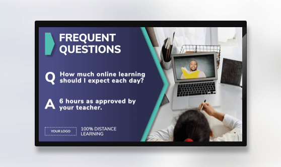 Distance Learning Frequent Questions