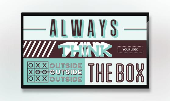 Motivation - Think Outside the Box