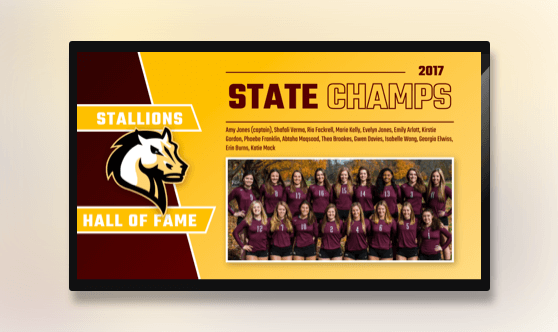 Hall of Fame - State Champs