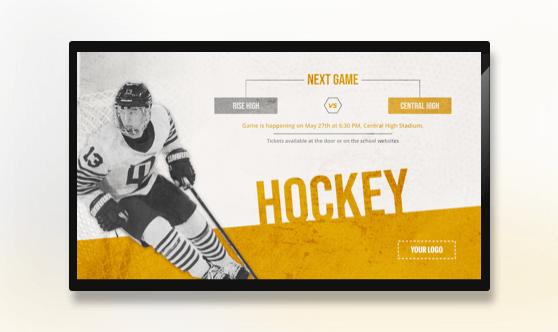 Hockey Game - Sports