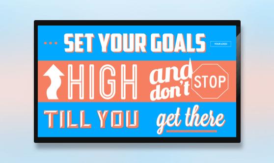 Motivation - Set Goals