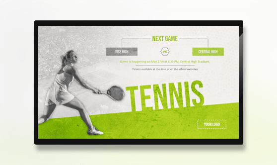 Tennis Tournament - Sports
