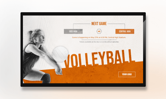 Volleyball Game - Sports