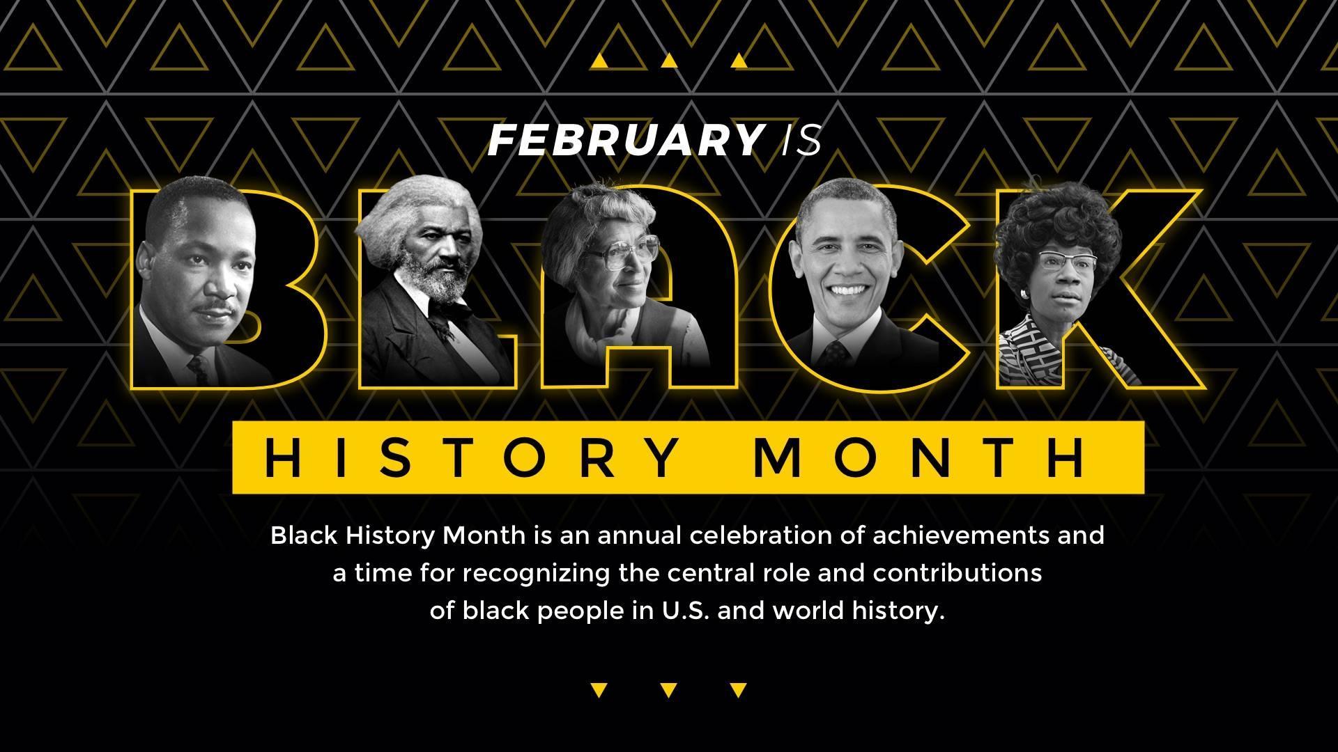 Black History Month Digital Signage Template