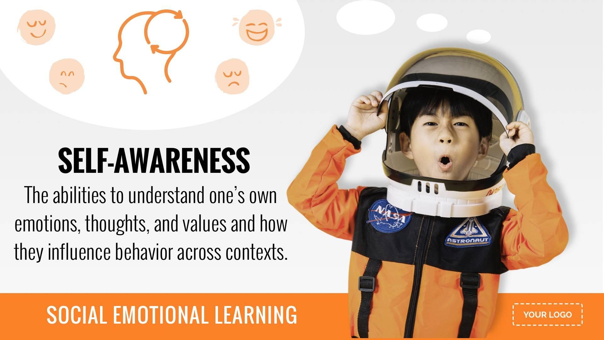 SEL - Self Awareness Digital Signage Template