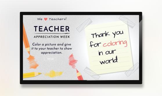 Teacher Appreciation Week Color