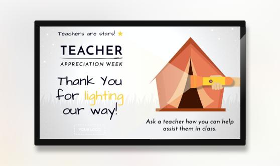 Teacher Appreciation Week Light Our Way