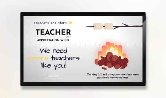 Teacher Appreciation Week S'more Teachers