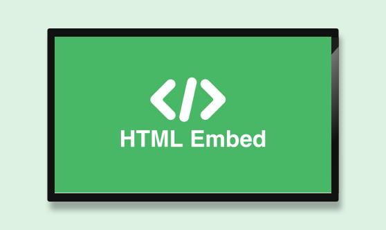 HTML Embed Full Screen