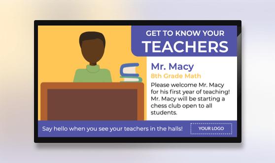 Teacher Profiles
