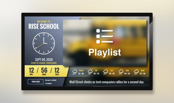 Zoned Embedded School Slant