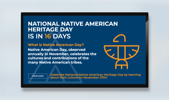 Holiday Native American Day