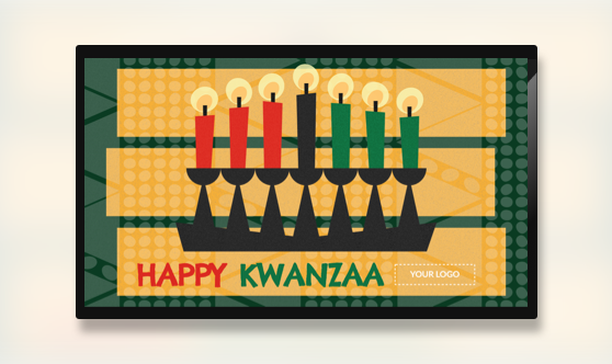 Holiday Happy Kwanzaa